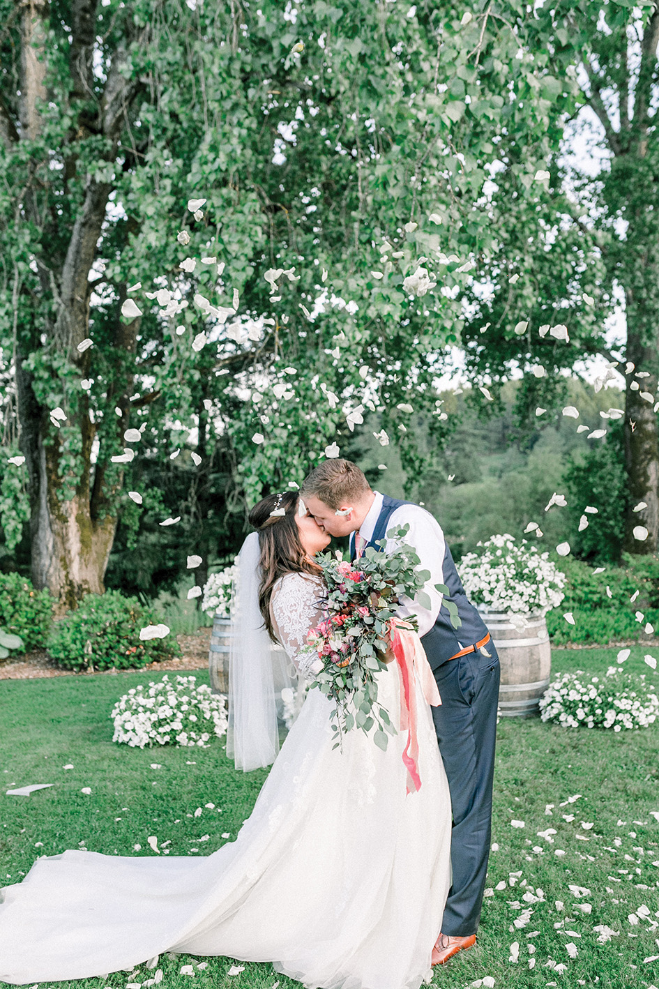 Danielle and David wed at Beacon Hill Winery