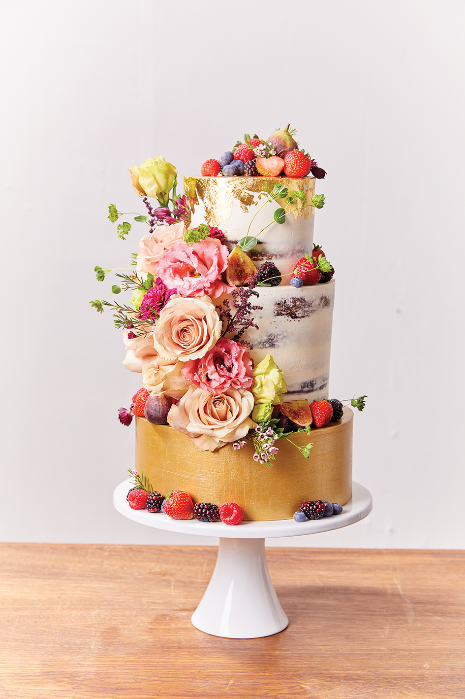 Just a Dash Cakes floral cake