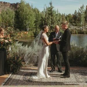 Gretchen and Tyler tie the knot at Ranch at the Canyons