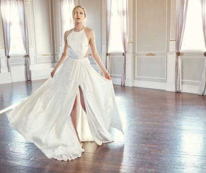 499370a78 State of Grace: Exquisite Details Lend A Modern Vibe To Traditional Bridal  Silhouettes