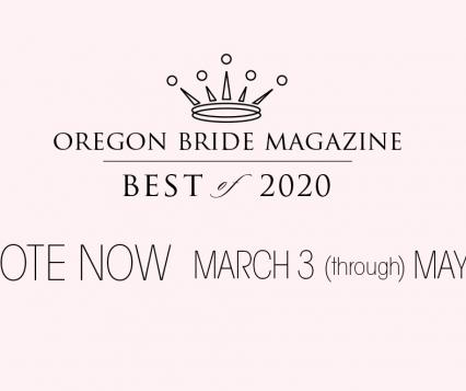 Oregon Bride Magazine Best of 2020