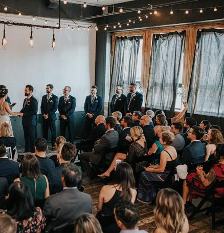 Jenna and Michael get married at Union Pine