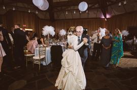 Medici and her grandfather share a special dance