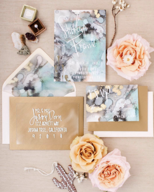 Photo by BeSpoke Wedding Photography, Invitation by Lazy Creative Designs, Florals by Ella & Louie, Planning & Design by Onyx + Redwood