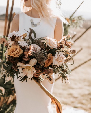 Flowers: Good Seed Floral, Photo: Nicole Briann Photo