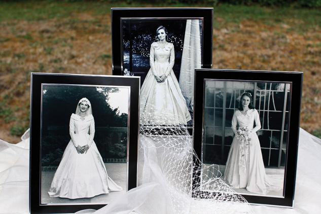 Portraits of the three brides