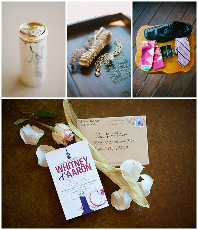 Pink Oregon Wedding at Zenith Vineyard by Christa Taylor Photography
